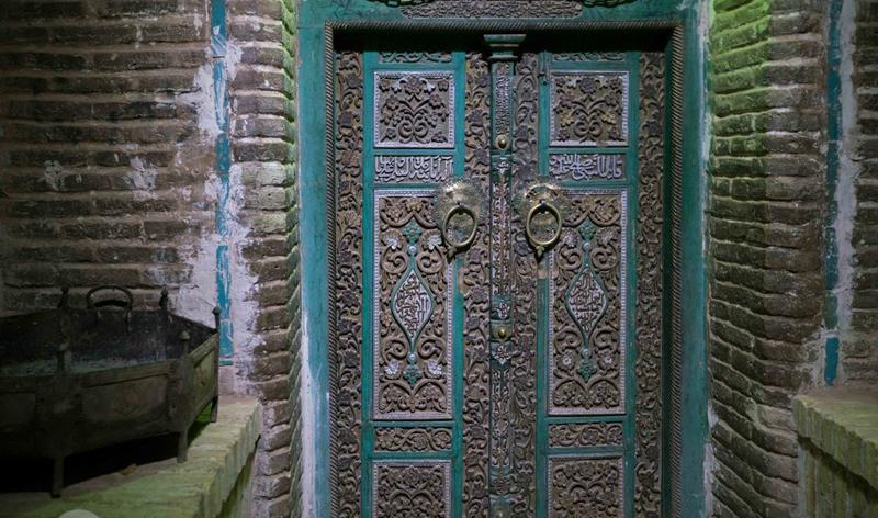 Old Door in Abyaneh Village